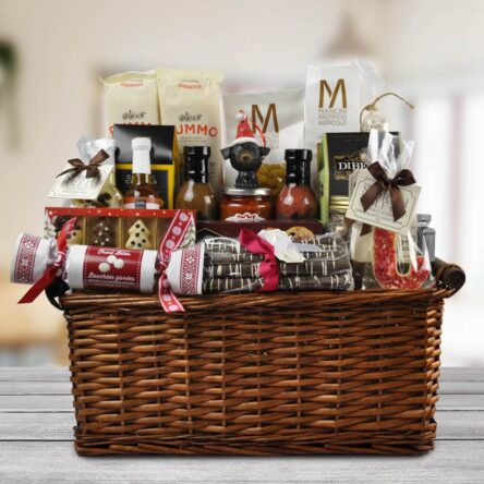 Timber Now Christmas Charity Basket